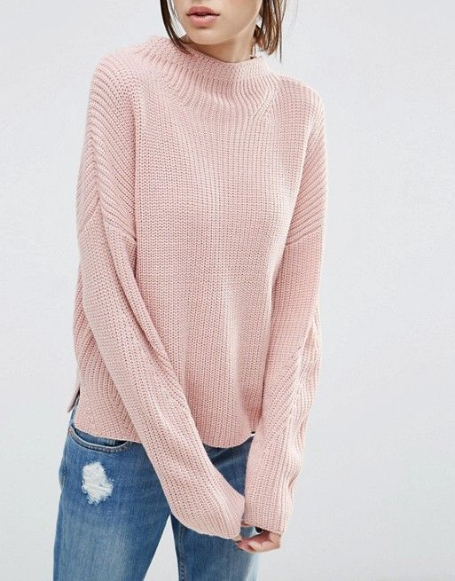 ASOS   ASOS Ultimate Chunky Sweater with High Neck