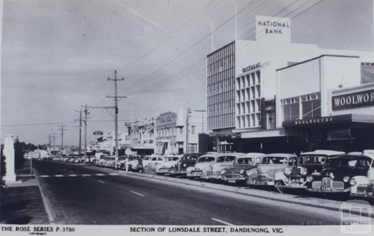 Section of Lonsdale Street, Dandenong