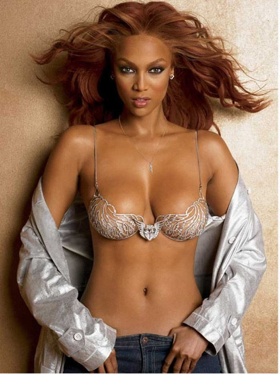 Consider, that bank bra no shirt tyra with you