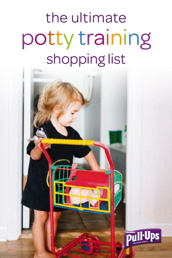 Get your toddler ready to start their potty training adventure by going shopping together for these essential supplies. Help them pick out Pull-Ups Training Pants with their favorite characters and small rewards to celebrate their bathroom breakthroughs. Potty training can be a long process, so make sure that both you and your little one are prepared.