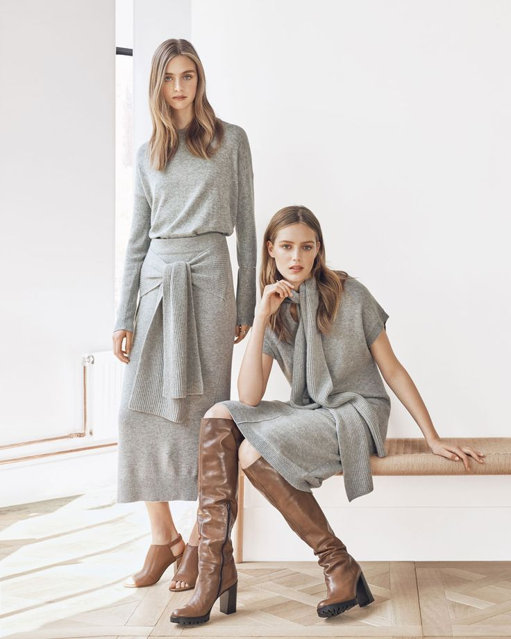We're loving grey on grey. View autumn arrivals and inspiration at http://www.countryroad.com.au/shop/woman