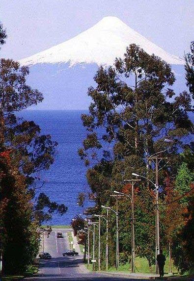Frutillar, volcán Osorno, Chile