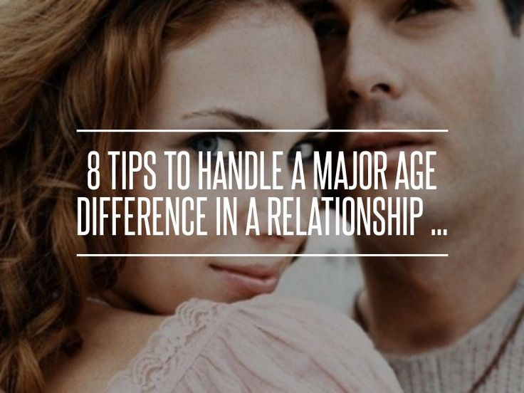 Age gap dating quotes