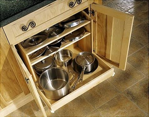Pot Amp Pan Drawer In Blind Corner The First Pull Out