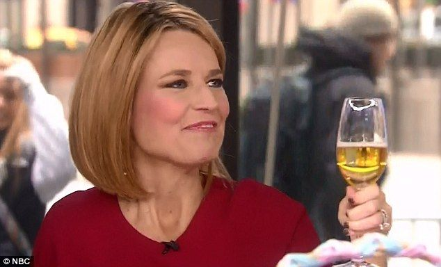 Today show host Savannah Guthrie announces she got MARRIED on ...