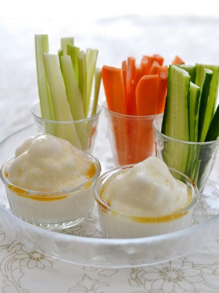 ふわふわ白だしディップ&野菜スティック by 西山京子/ちょりママ | レシピサイト「Nadia | ナディア」プロの料理を無料で検索