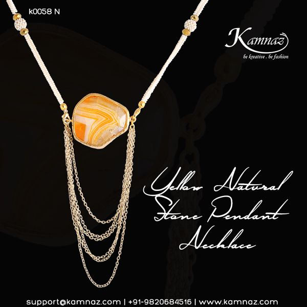 #KamnazJewellery For price info contact support@kamnaz.com or call +91-9820684516 #handmadejewellery #chicjewellery #designerjewellery #stonenecklace #fashionjewellery #jewelry #mumbai