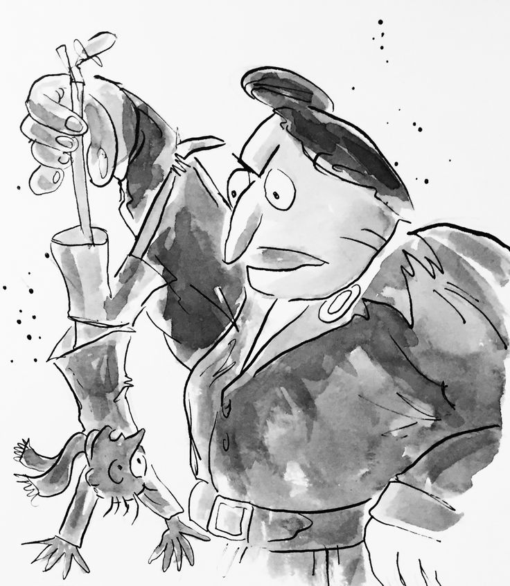 Miss Trunchbull - Matilda (Characters designed by Quentin Blake, recreated by Dean Smith.