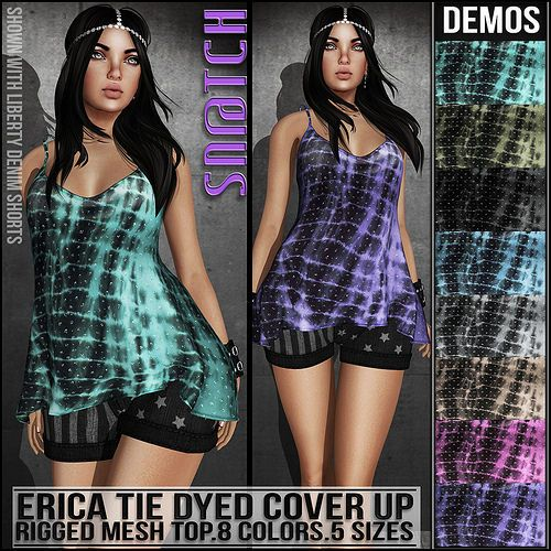 Sn@tch Erica Cover Up Vendor Ad LG | Flickr - Photo Sharing!