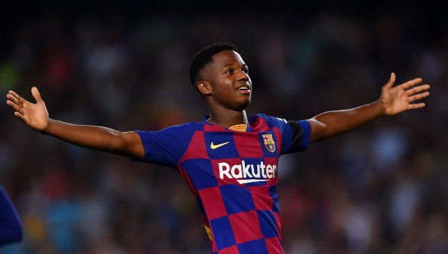 Ansu Fati Is A Star In The Making And Other Talking Points As Barcelona Thump Valencia Camp Nou La Liga Barcelona