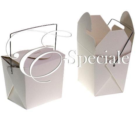 E-speciale Scatolina Take Away - Prodotti per Matrimonio - Confetti Caramelle e Confettata - Sacchettini e Scatoline - accessori e gadget per matrimoni e feste - E-speciale
