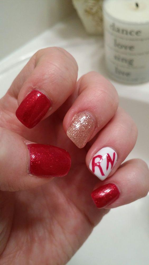 Mejores 100 imágenes de Nurse Nail Designs en Pinterest | Nailart ...