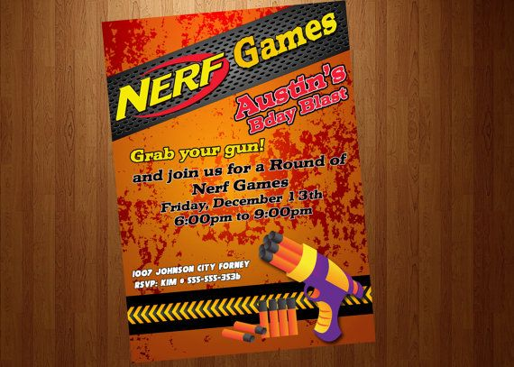 1000  ideas about Nerf Games on Pinterest   Nerf party, Nerf war ...