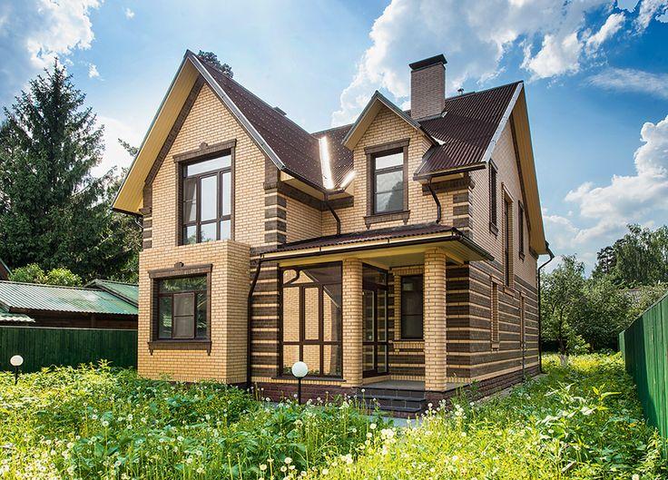 Дом с интерьерами в стиле современной классики и элементами ар деко | Архитектурные проекты | Журнал «Красивые дома»