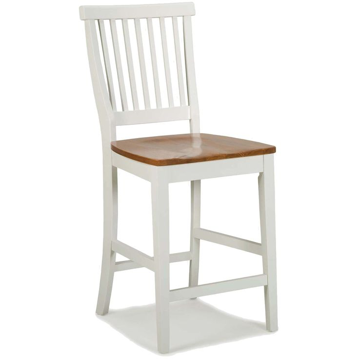 Add style and function to your kitchen with this solid oak bar stool which is