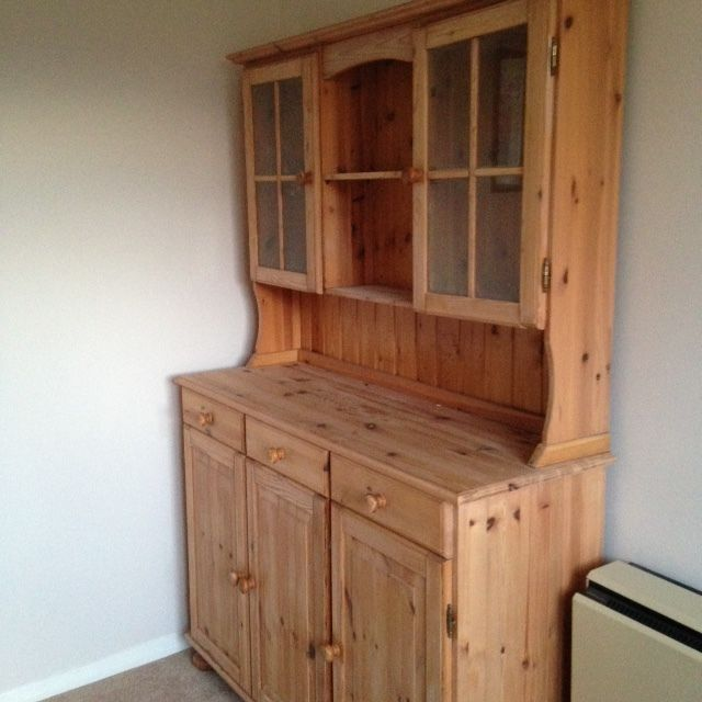Pine Welsh dresser for sale - great condition on Gumtree. A well looked after and loved welsh dresser for sale due to dining room re-fit. Solid pine unit t