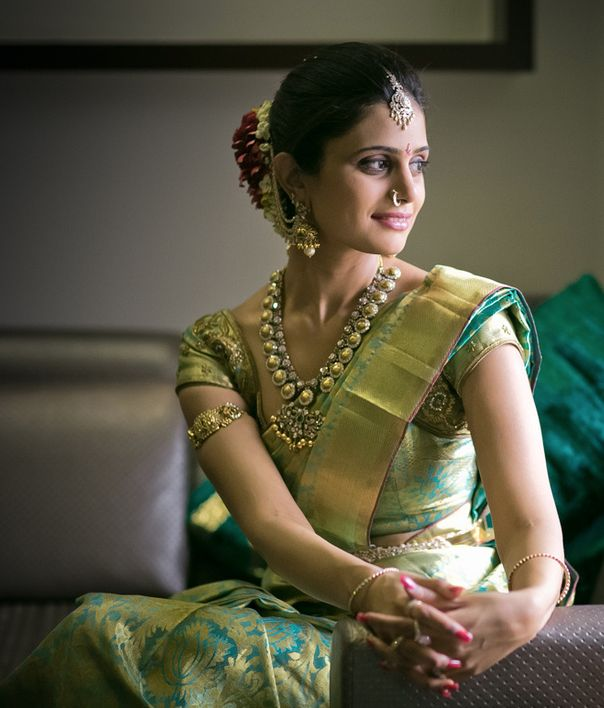 Simple South Indian look