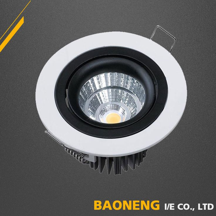 2 years warranty 630lm 7W COB led ceiling light with LVD SASO approved