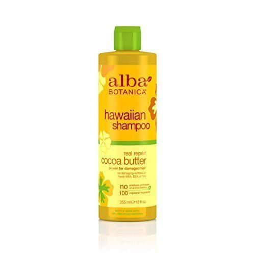 Alba Botanica Hawaiian Hair Care Cocoa Butter Real Repair Shampoo, 12 Fluid Ounce by Alba Botanica *** Check out this great article. #hairoftheday