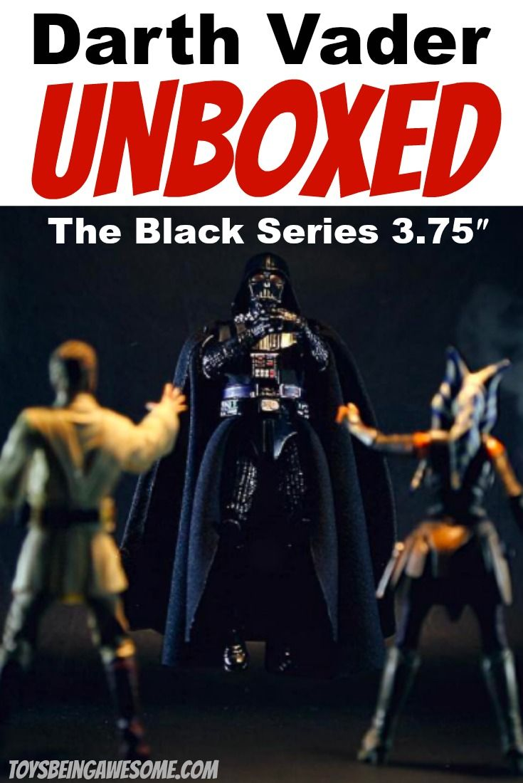 """Watch as we unbox Star Wars The Black Series 3.75"""" Darth Vader #3. This is no ordinary unboxing! #Hasbro #BlackSeries #DarthVader #StarWars #SHFIGUARTS  #StarWarsActionFigures #StarWarsToys #StarWarsToyCrew #StarWarsToyPix #StarWarsToyFigs #ToyPics #ToyPhotography #ToyPlanet #Toystagram #ToySnapshot #ToyCollector #ToyCollection #ToyCrewBuddies #ToyCommunity #ActionFigures #Lightsaber #TBSFF"""