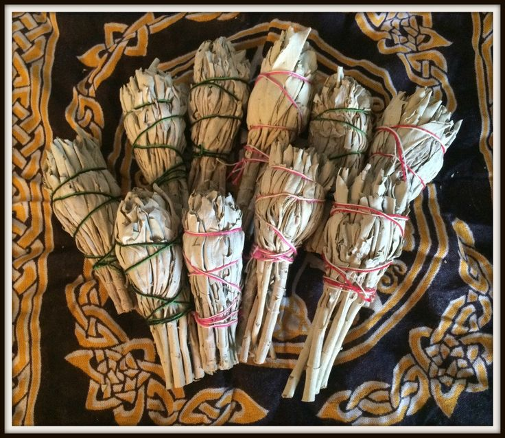 Mini White Sage Smudge Sticks ~ Purification ~ Cleansing ~ Protection ~ Wicca ~ Witch ~ Pagan ~ Native American ~ Sage Smudge Stick by SummerlandBB on Etsy