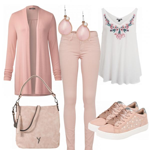 sping Damen Outfit – Komplettes Freizeit Outfit g…