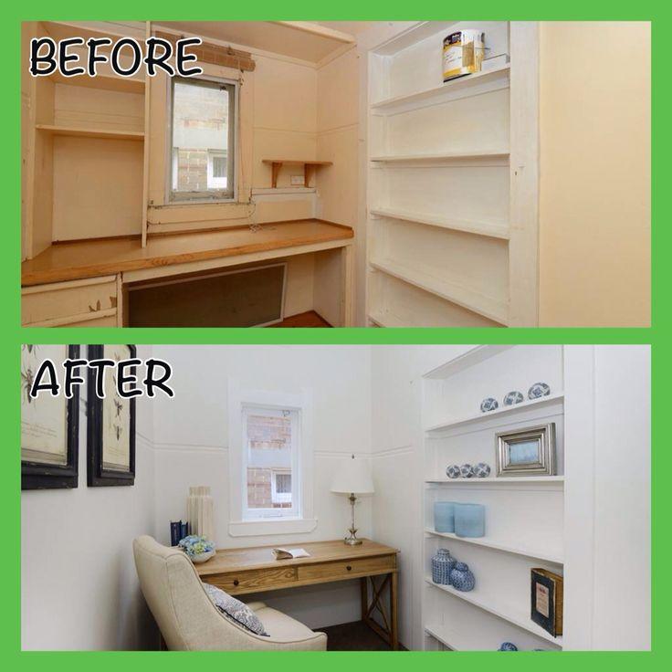 Study #Renovation #beforeandafter