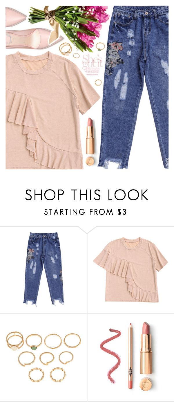 """Denim Day"" by pastelneon ❤ liked on Polyvore featuring Summer, denim, statement and zaful"