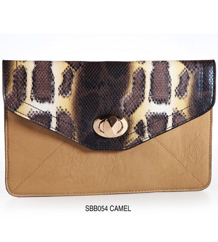 Carteira - SBB054 Camel