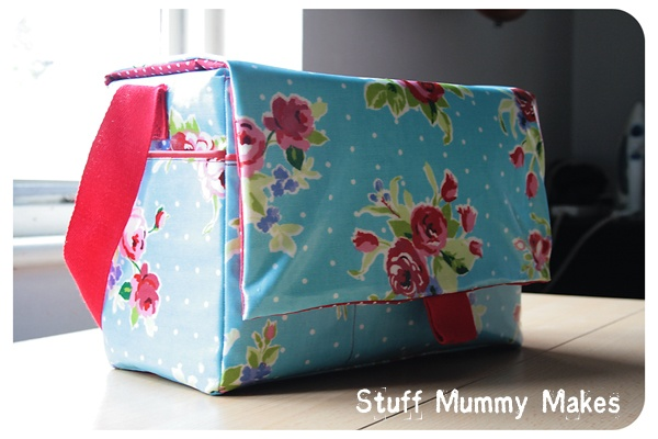 Oilcloth Satchel for my camera