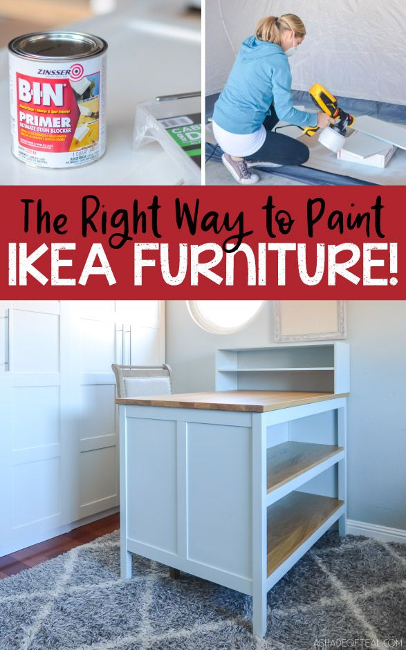 Paint Ikea Laminate Furniture