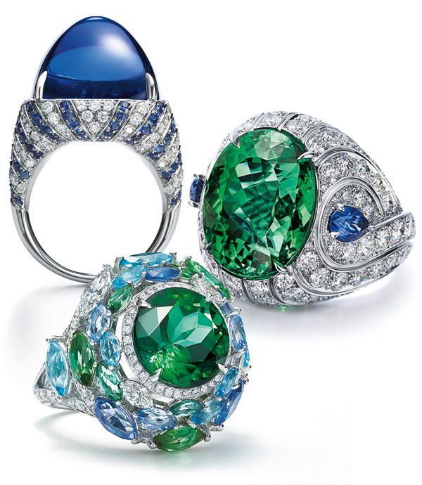 Tiffany's Blue Book 2016 Collection Rings