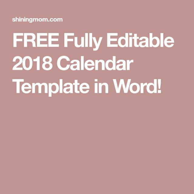 Best 25+ Calendar templates ideas on Pinterest Free printable - calendar templates in word