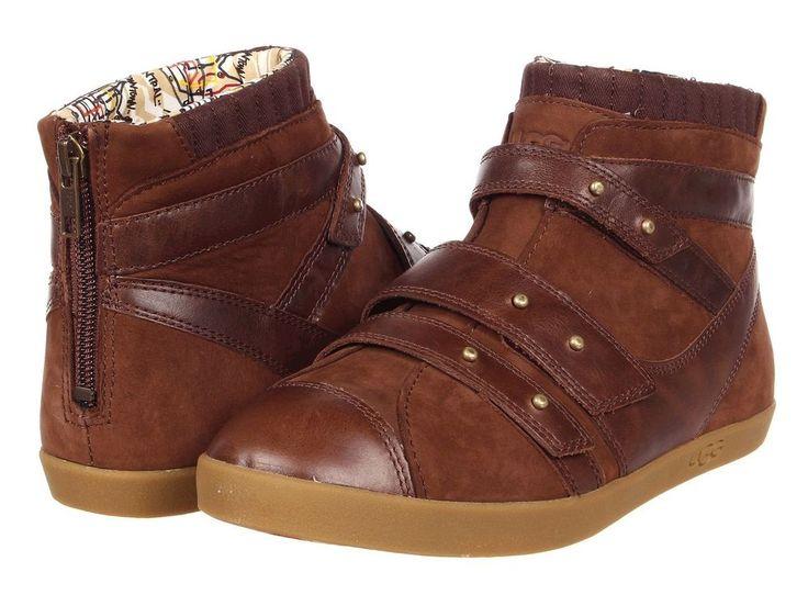UGG Australia * Turnschuhe Sneaker * Harper * Gr. 38 * Leder * Braun * Neu!!!  in Kleidung & Accessoires, Damenschuhe, Turnschuhe & Sneaker   eBay!
