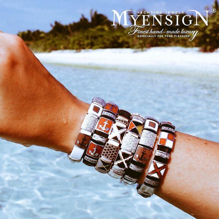 MyEnsign Yachting Jewels www.myensign.eu Nautical jewelry-Gold&Diamonds