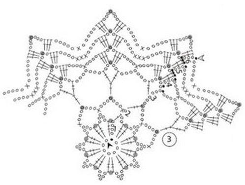 snowflake 392 schema 2, Великолепные снежинки к Новому году!