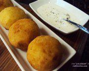 Recetas de bombas de patata rellenas de ternera y parmesano   Qué Recetas