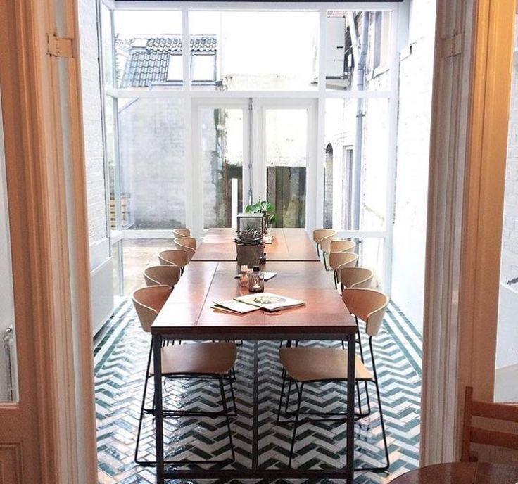 17 idee n over eetkamers op pinterest eetkamer kleuren eetkamer verf en muurverf kleuren - Idee decoratie eetkamer ...