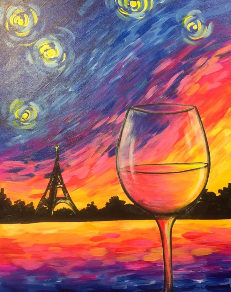 20 best wine and cocktail paintings images on pinterest for Paint and sip cleveland