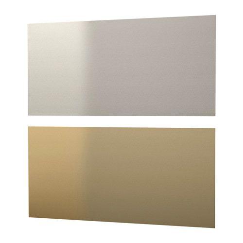 IKEA - LYSEKIL, Revêtement mural, Protège de la poussière et facilite le ménage.Résiste à la chaleur, à l'eau, à la graisse et aux saletés. Convient pour les murs derrière les plans de travail de cuisine et les tables de cuisson (sauf le gaz).