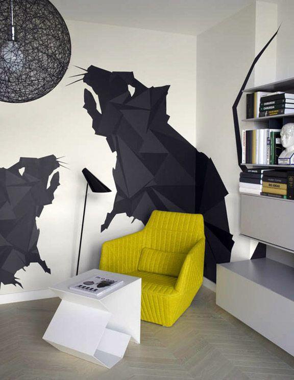 Appartement design par le Studio MORPHO (Kraków, POLOGNE)