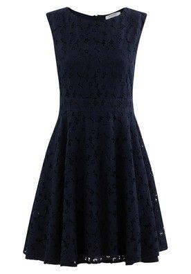 Csipke női ruha - Tengerészkék - Ruha - Női - Promod