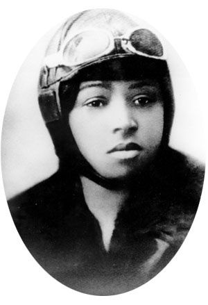 "Elizabeth ""Bessie"" Coleman (January 26, 1892 – April 30, 1926) was an American civil aviator. She was the first female pilot of African American descent and the first person of African American descent to hold an international pilot license. #BlackHistoryIsAmericanHistory  (http://en.wikipedia.org/wiki/Bessie_Coleman)"