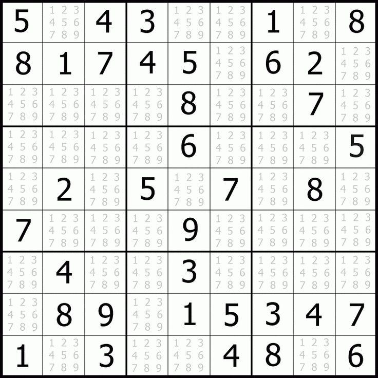 Darmowe Sudoku łatwe dla dzieci do drukowania (With images