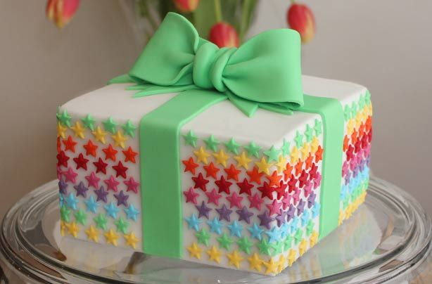 Learn how to make your own birthday present cake with our for Basic cake recipe for kids