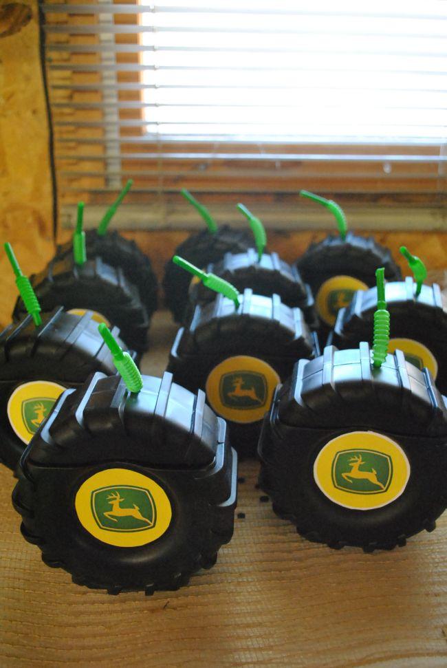 John Deere tractor tire cups