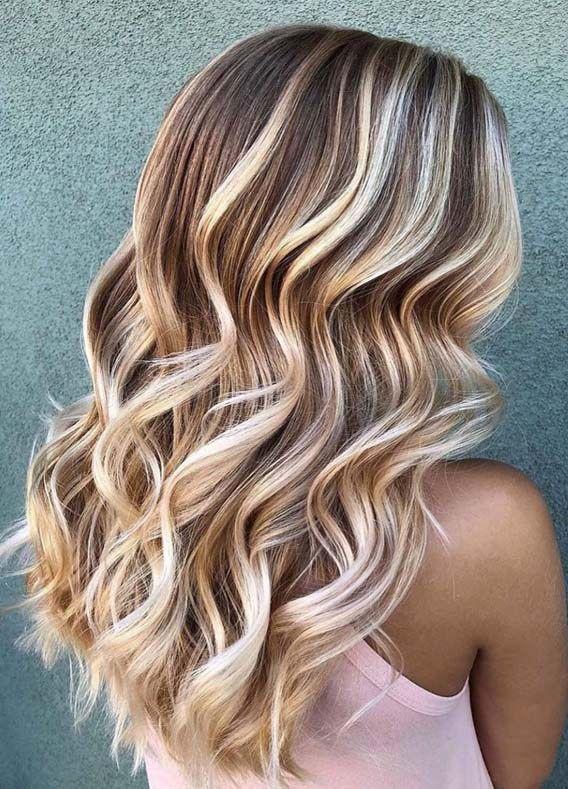Fresh Balayage Hair Colors Highlights For Women Long Hair Highlights Balayage Hair Hair Color Balayage