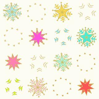 FREE printable snowflake paper