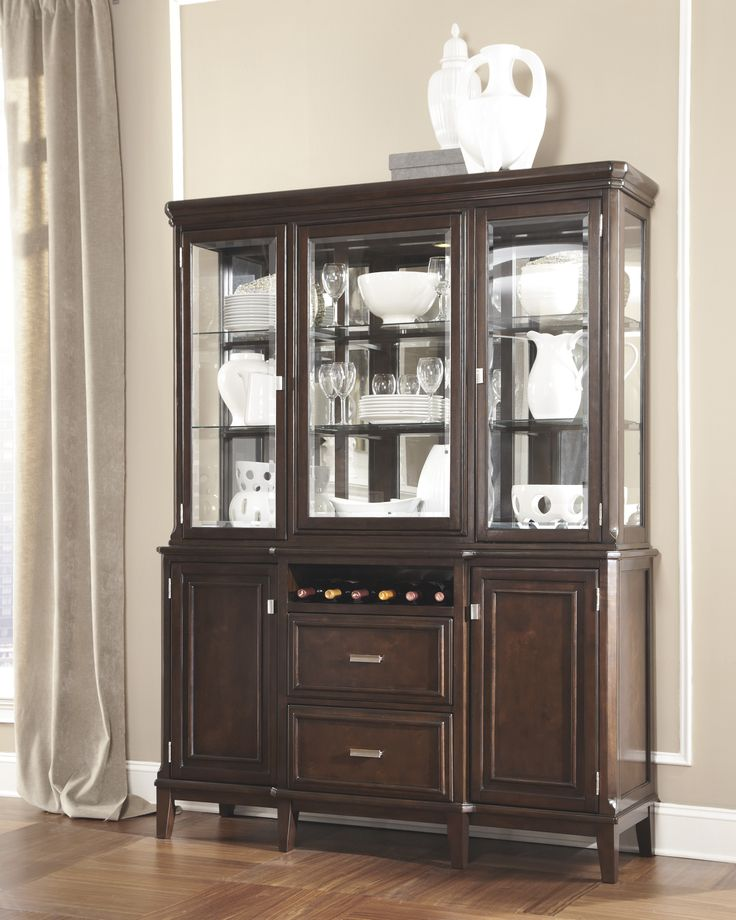 Looks Like The Larimer Server From Ashley Furniture May Go Well With Our Dining Table Rooms To