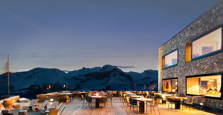 9 Mountain Restaurants To Celebrate A Birthday (And Stay Overnight) In the Alps - Read more at http://momentumski.com/mountain-restaurants-celebrate-stay-overnight-alps/